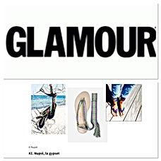 glamour paris Juillet18 | nupié, nupie, sandals, sandales, rubans, handmade, puebla, greece green, personnalisable