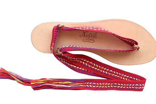 Sandales Nupié Spetses Red