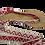 Thumbnail: Sandales avec rubans sifnos rouge