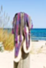 nupié, nupie, sandals, sandales, rubans, handmade, plage, ibiza, model