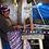 Thumbnail: Sandales Nupié avec liens Pepito Blue Green