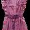 Thumbnail: Nupié Resort Robe Blockprint coton rose