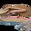 Thumbnail: Sandales avec rubans Rainbow pastel