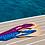 Thumbnail: Sandales Nupié avec liens Kayan Light Blue