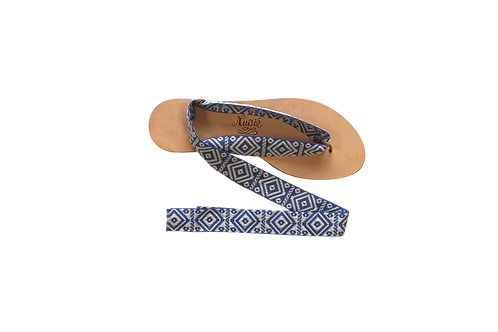 Sandales Antiparos Bleu Lavande