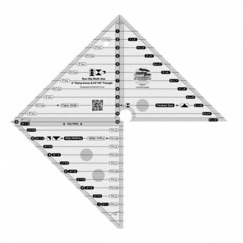 Creative Grid Flying Guess Ruler