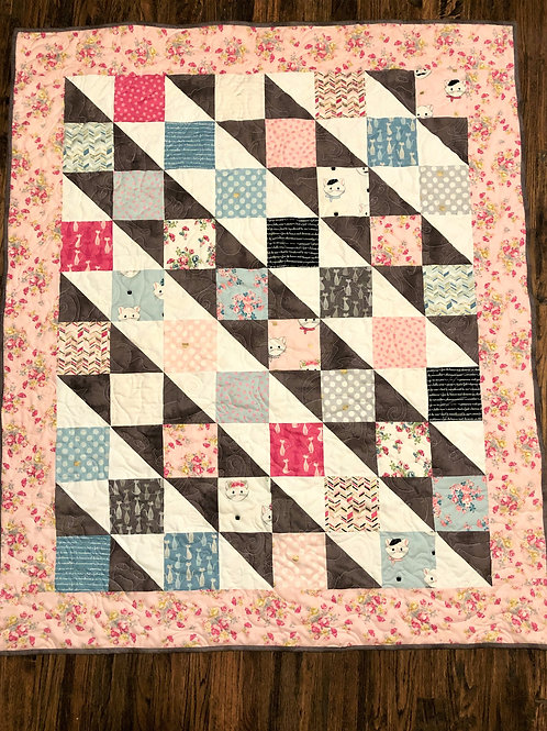 CHLOE AND FRIENDS Quilt Kit