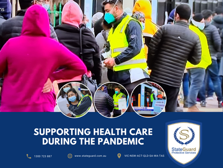 Supporting Health care During The Pandemic