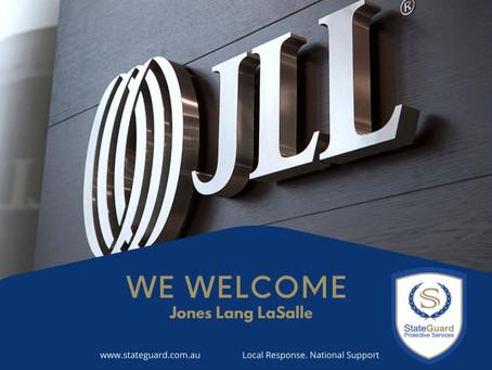 We Welcome Jones Lang  LaSalle