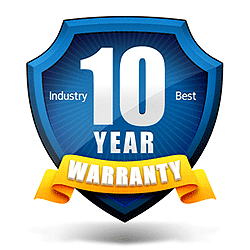 Industry Best Warranty