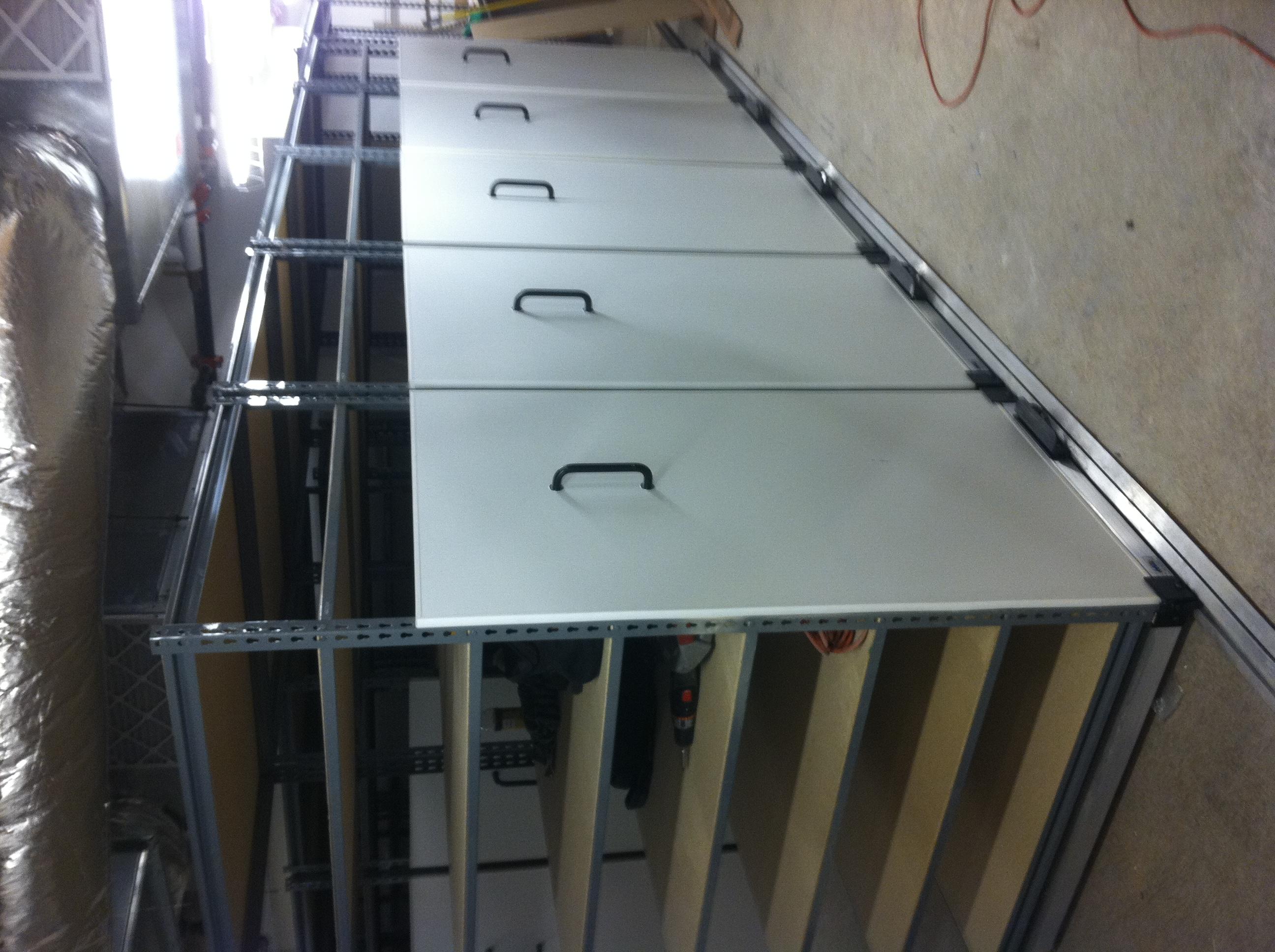 High Density Manual Mobile Storage System