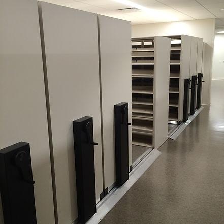 High Density Mobile Storage System