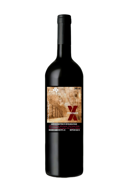 2015 The X-Prisoner Red Blend