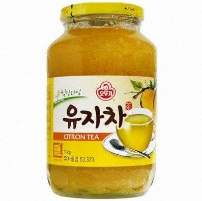 Citron Tea, 1kg 유자차