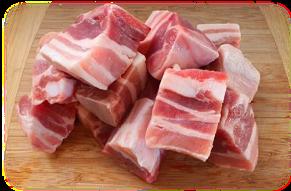 Pork Short Ribs Cut, 1kg 돼지 찜갈비
