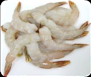Prawn Cutlet, Raw, 26/30(1kg/bag) 생커틀릿새우  生鳳尾蝦