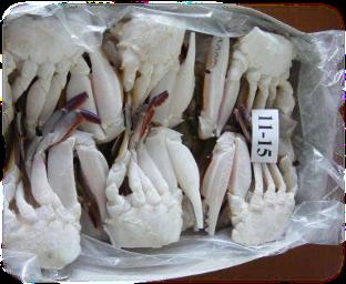 ½ Cut Crab, 500g/pk 절단꽃게 螃蟹