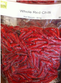 FZ Red Chillies, 250g 냉동 홍고추
