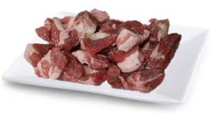 Pork Pieces for Soup, 1kg  국거리용 돼지고기