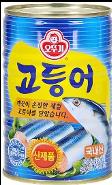 Blue Mackerel Can (400g) 고등어 통조림