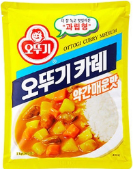 Ottogi Curry Powder, Medium Spicy (1kg) 오뚜기 카레 (약간 매운맛)