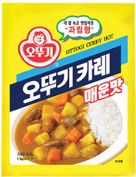 Ottogi Curry Powder, Spicy (1kg) 오뚜기 카레 (매운맛)