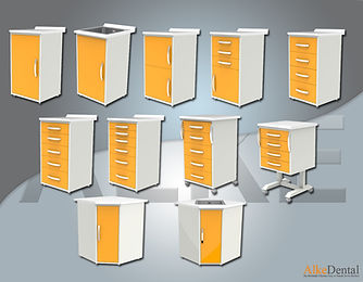 Laminate Surface Clinical Cabinet Models