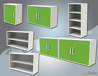 Clinical Cabinet Models for Wall