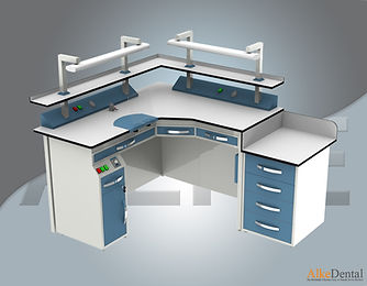 Dental Laboyatory Workbench Models