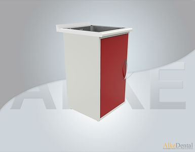 1 Cover Laminate Surface With Sink Dental Clinical Cabinet Model Sd-Std1s