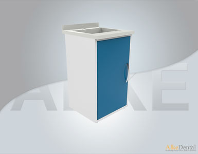 Acrylic Surface 1 Cover With Sink Clinical Cabinet Model sd-acr1s