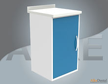 dental clinic cabinet one cover