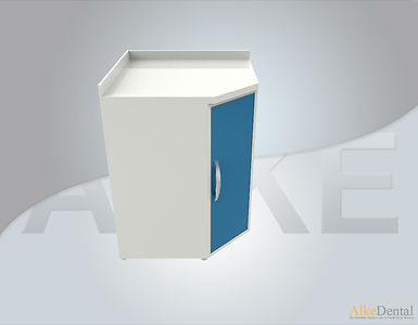 Acrylic Surface For Corner Clinical Cabinet Model sd-acr7