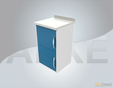 Acrylic Surface 2 Cover Clinical Cabinet Model sd-acr2