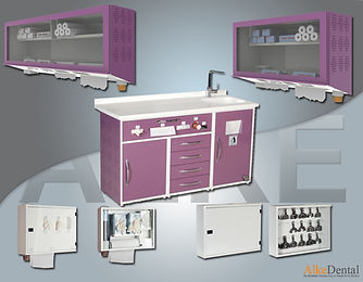 Dental Clinical Cabinet for Hygine Equipment