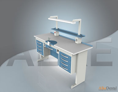 4 Drawers Laminate Surface Portable Clinical Cabinet Model Sd-Std-M4