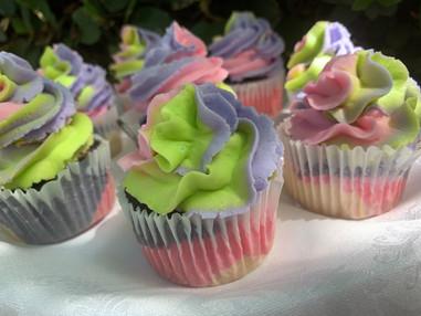 tie dye cupcakes in the garden.jpg