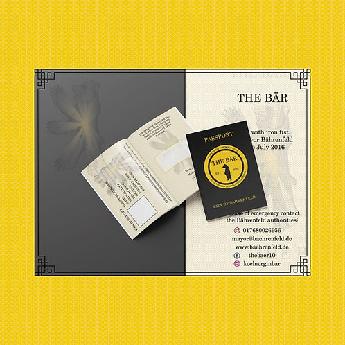 The Bär Passport