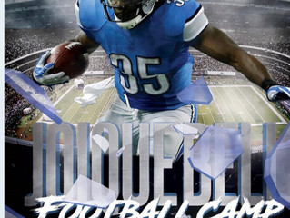 Joique Bell Football Camp