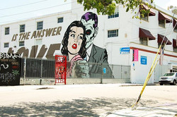 Fell in love with the street art in #Wynwood Miami, next time you go checkout #wynwoodwalls before t