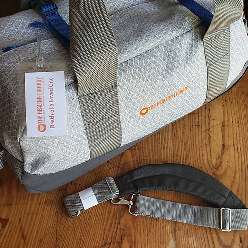 The Healing Library Rolling Duffle Bag