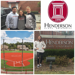 Madison Adams commits to Henderson State