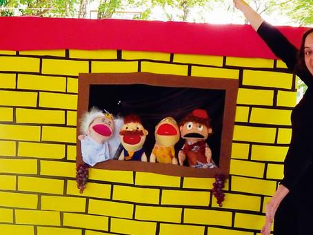 Techniatto apresentou o teatro de fantoches Bambino e a Uva Encantada na 32ª Festa da Uva de Jundiaí