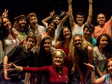 Olha Pro Céu Meu Amor foi sucesso no Polytheama!