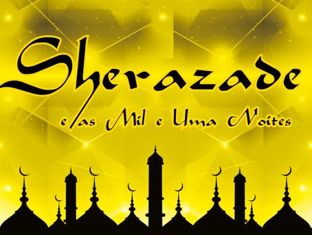 Portal do Egito apresentará Sherazade e as Mil e Uma Noites com a Cia de Teatro Techniatto no dia 4