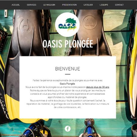 OASIS PLONGEE SITE INTERNET