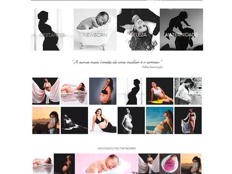 Nosso site com novo design!