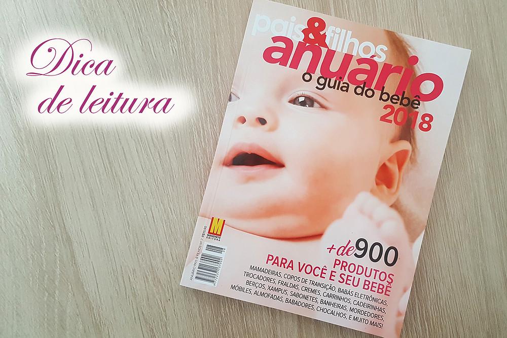 """Capa do livro """"Anuário Pais & Filhos 2018"""""""