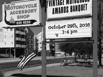 2015-2016 AVDRA AZ Awards Banquet October 29th