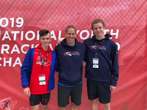 2 athlètes à Sydney au Championnat canadien jeunesse de la Légion 2019
